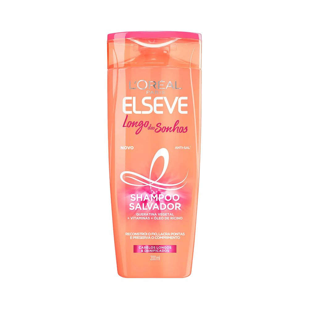 Shampoo Elseve Longo dos Sonhos 200ml