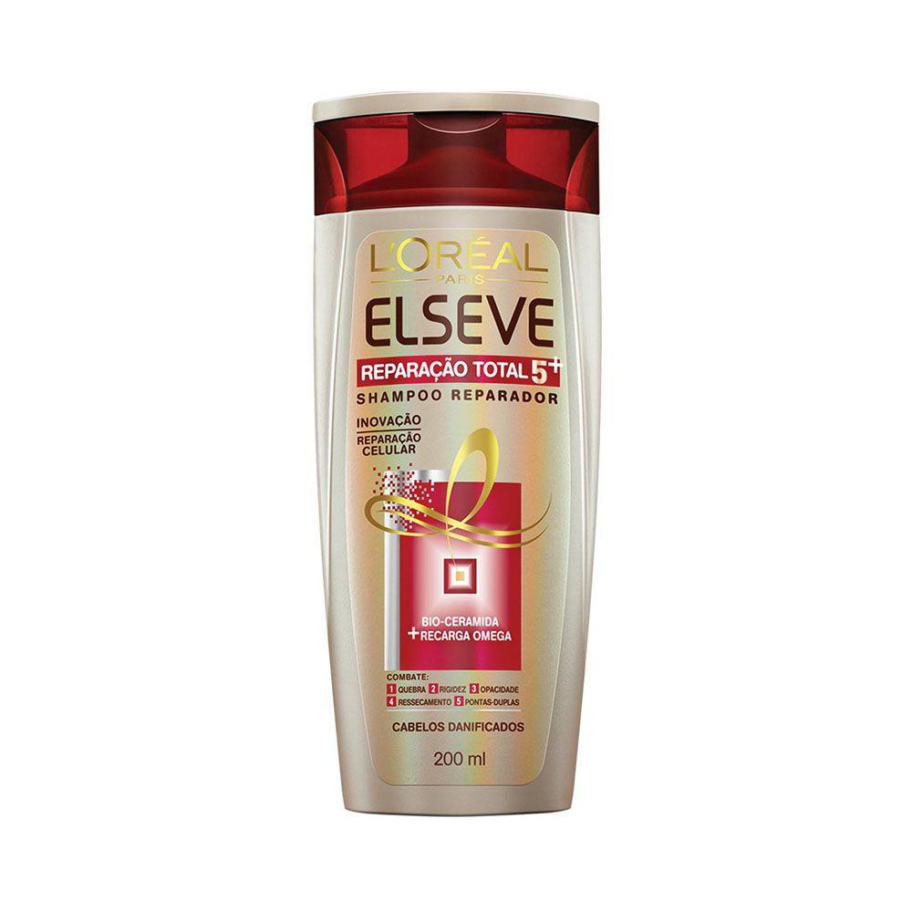 Shampoo Elseve Reparação Total 5+ 200ml