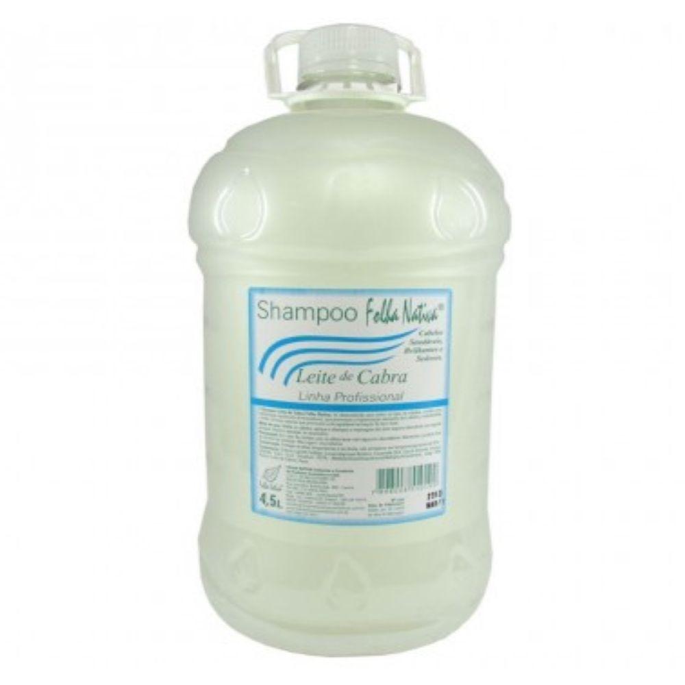 Shampoo Folha Nativa Leite de Cabra Galão 4,5L