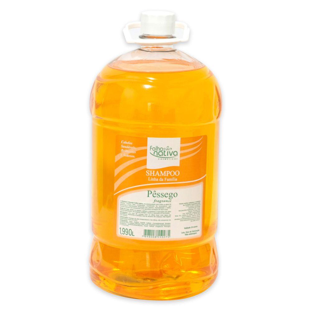 Shampoo Folha Nativa Pessego 1,990l