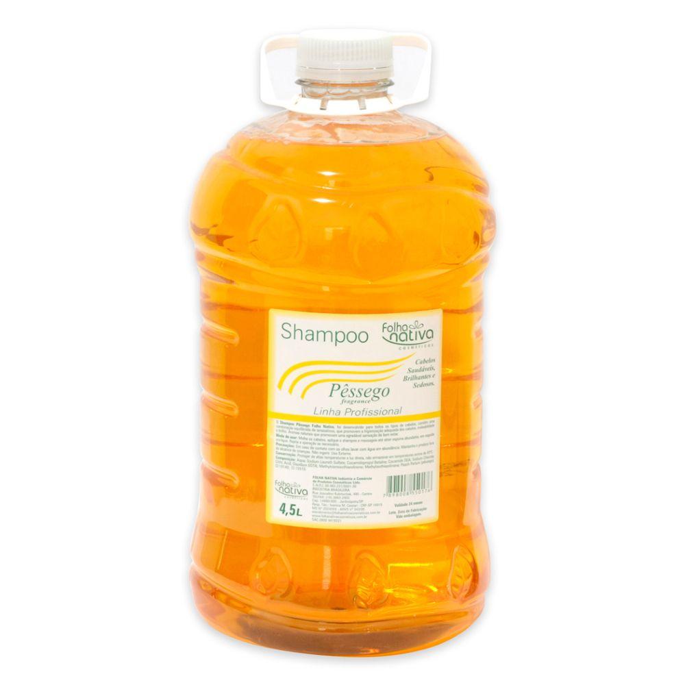 Shampoo Folha Nativa Pessego Galão 4,5L