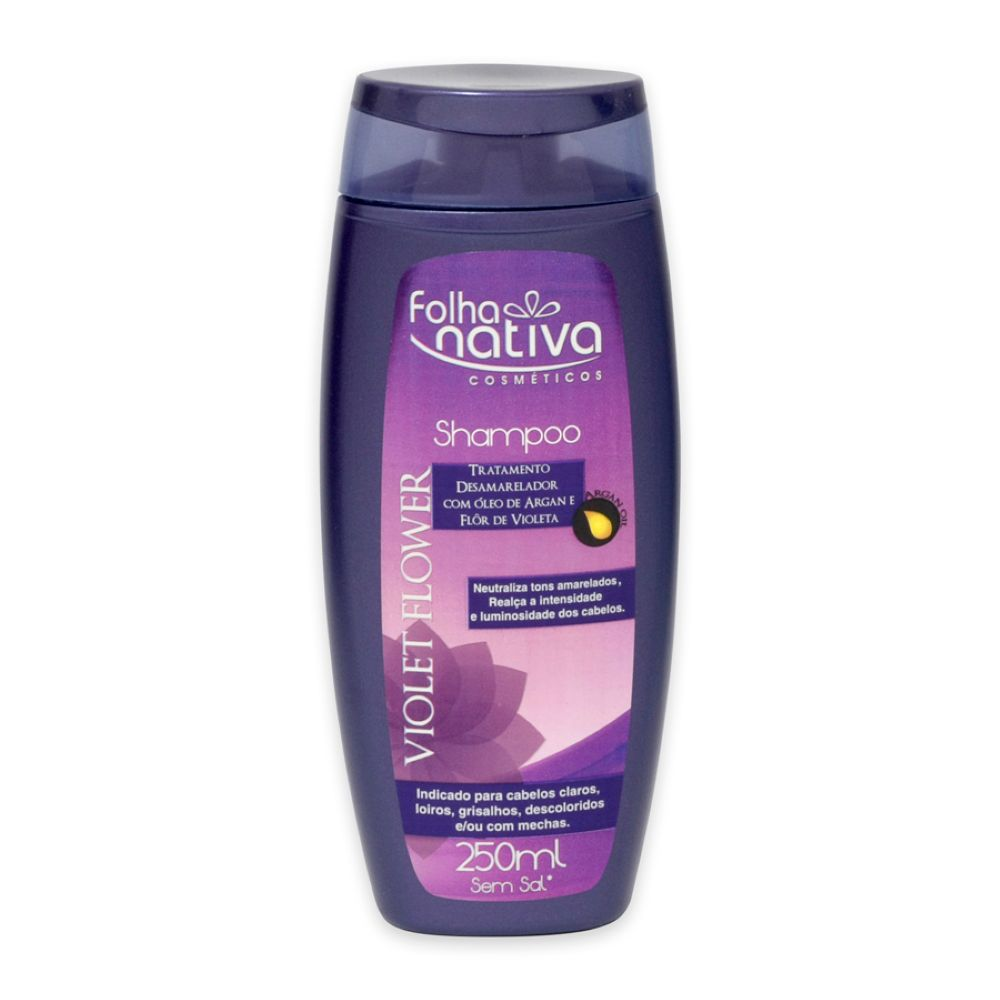 Shampoo Folha Nativa Violet Flower 250ml
