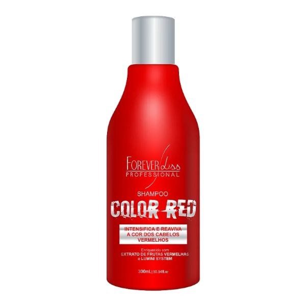 Shampoo Forever Liss Color Red 300ml