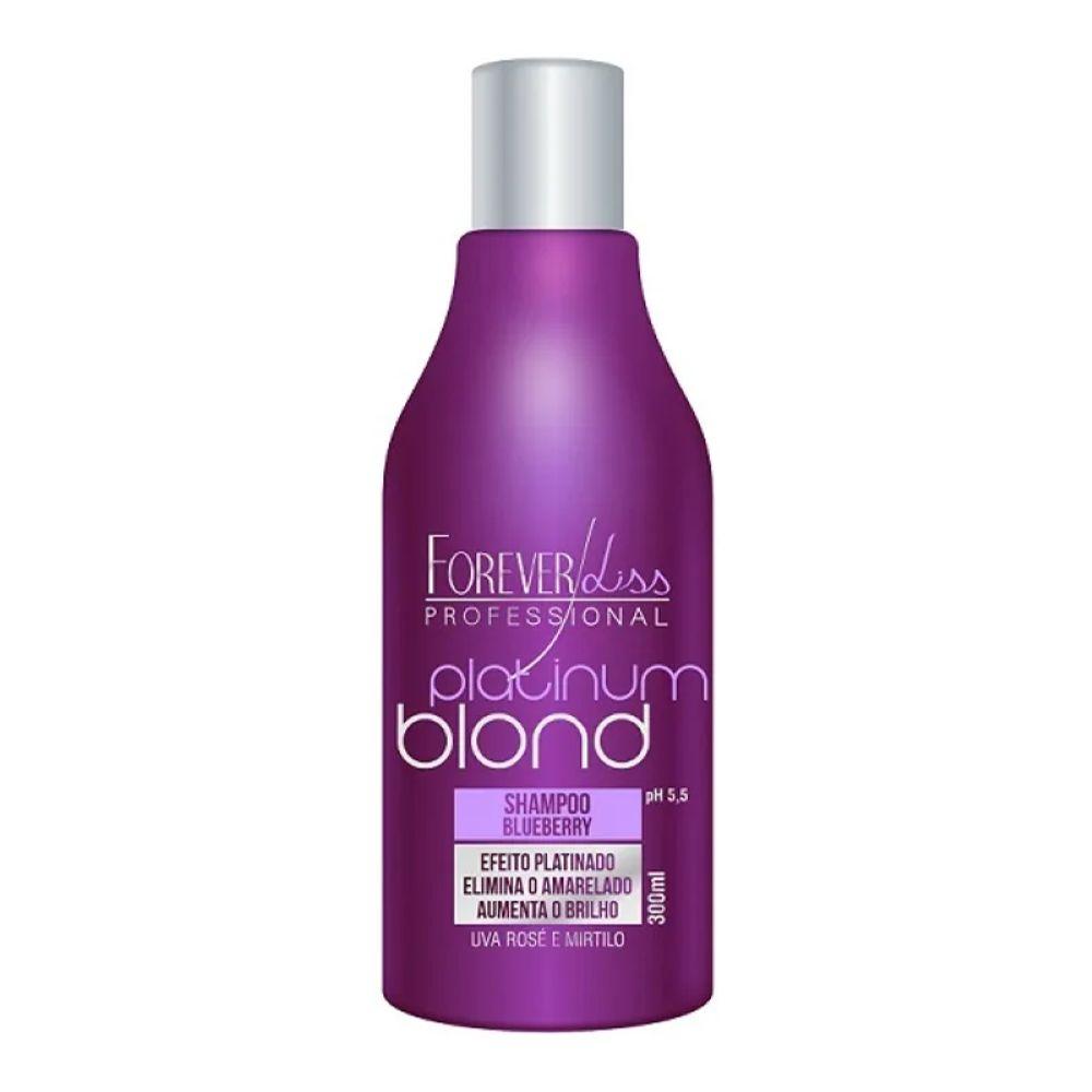 Shampoo Forever Liss Matizador Platinum Blond 300ml