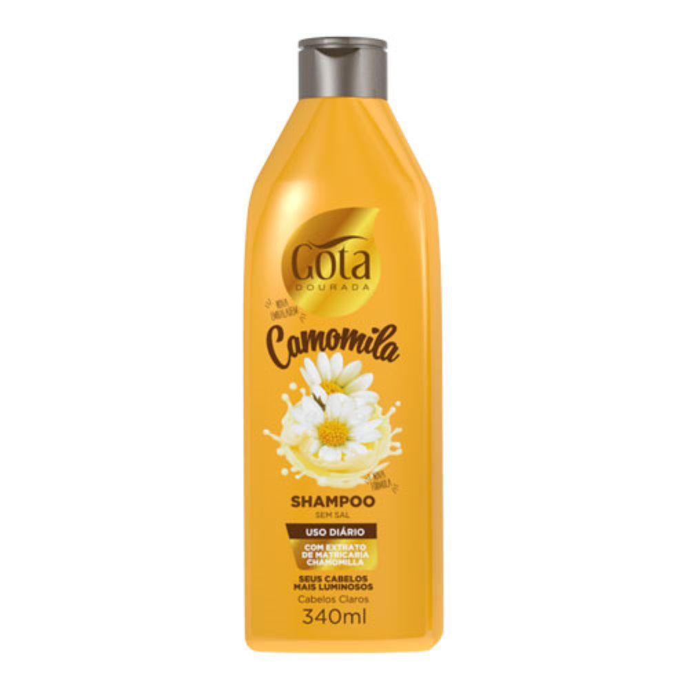 Shampoo Gota Dourada Camomila 340ml