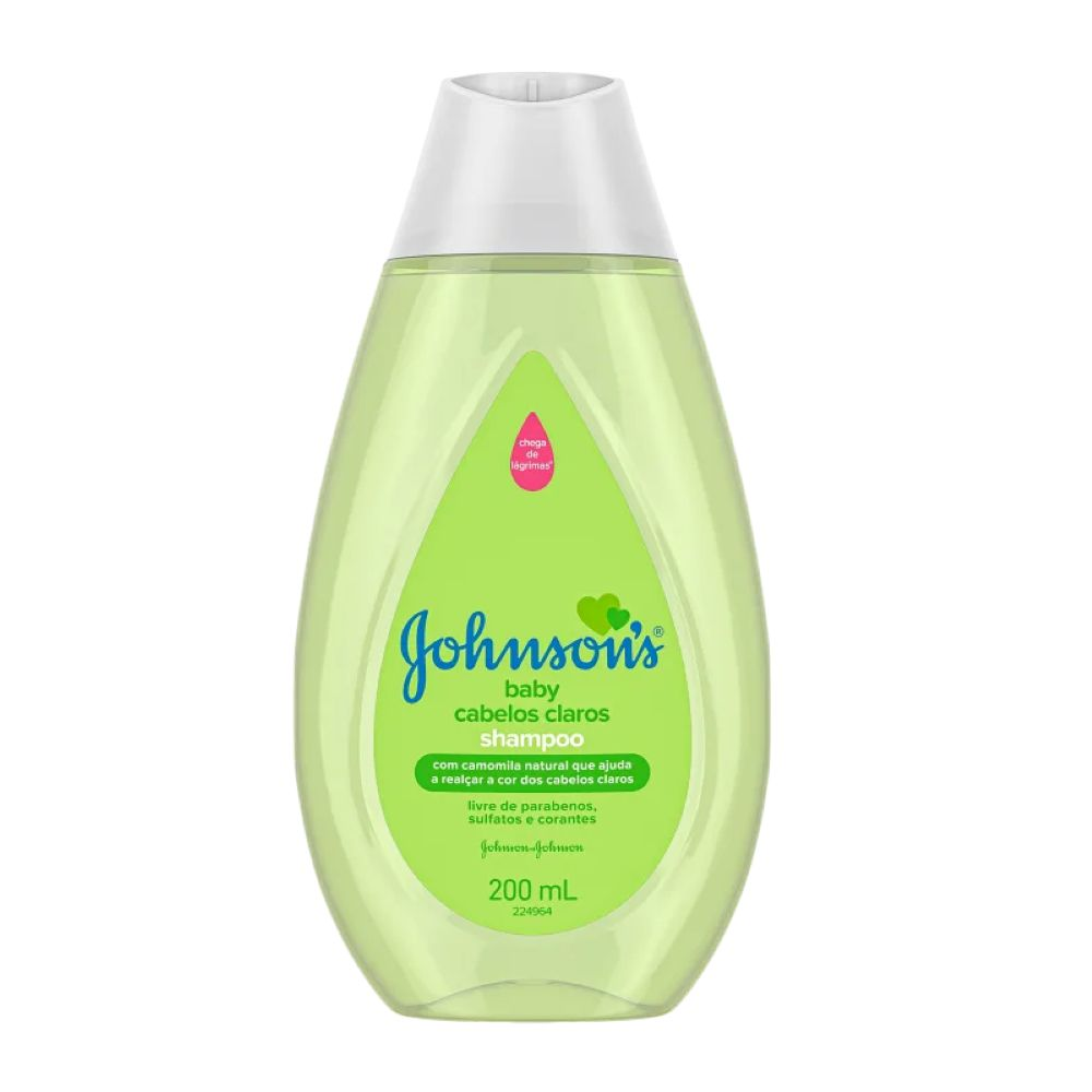 Shampoo Johnsons Baby Cabelos Claros 200ml