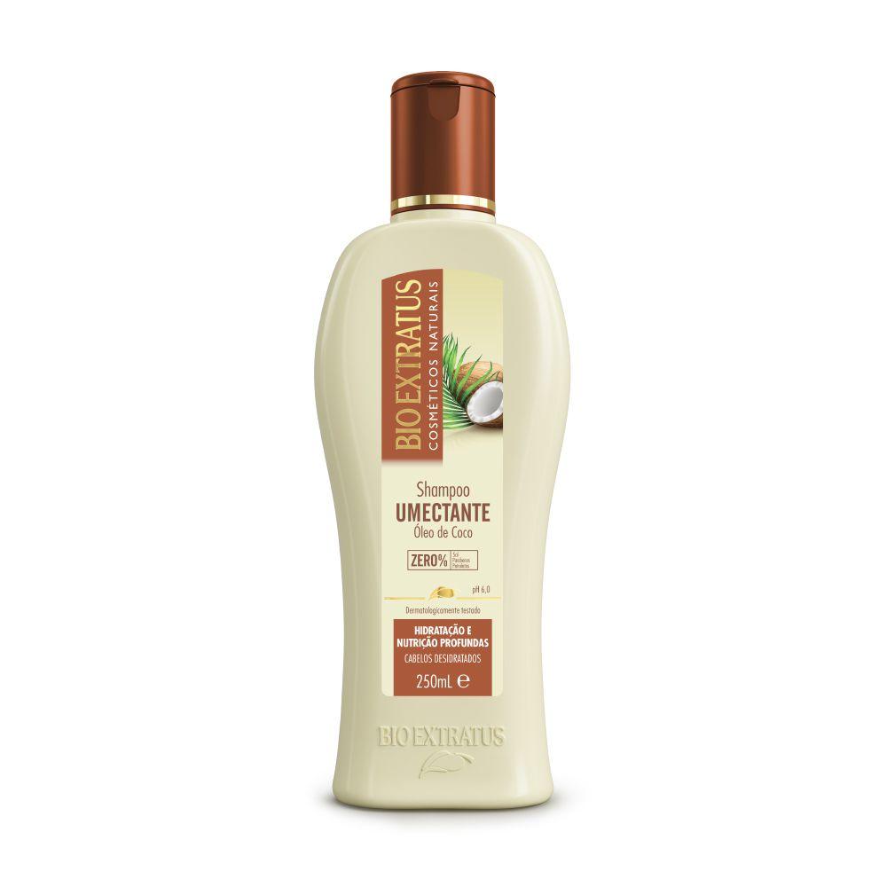 Shampoo Limpeza Umectante Bio Extratus 250ml