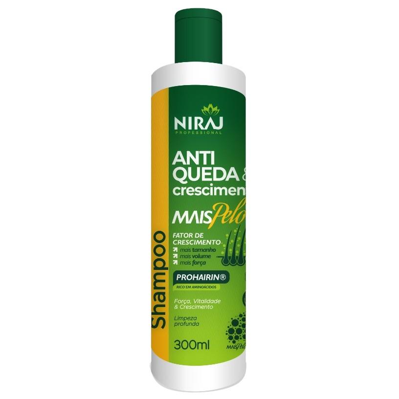 Shampoo Mais Pelo Niraj Crescimento 300ml