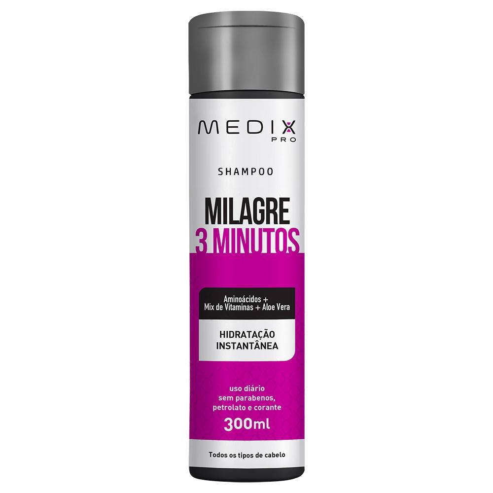 Shampoo Medix Pro Milagre 3 Minutos 300ml