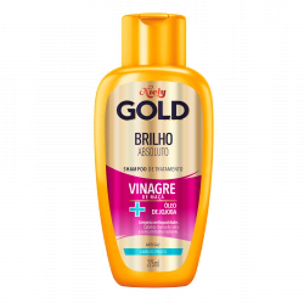 Shampoo Niely Gold Brilho Absoluto 300ml