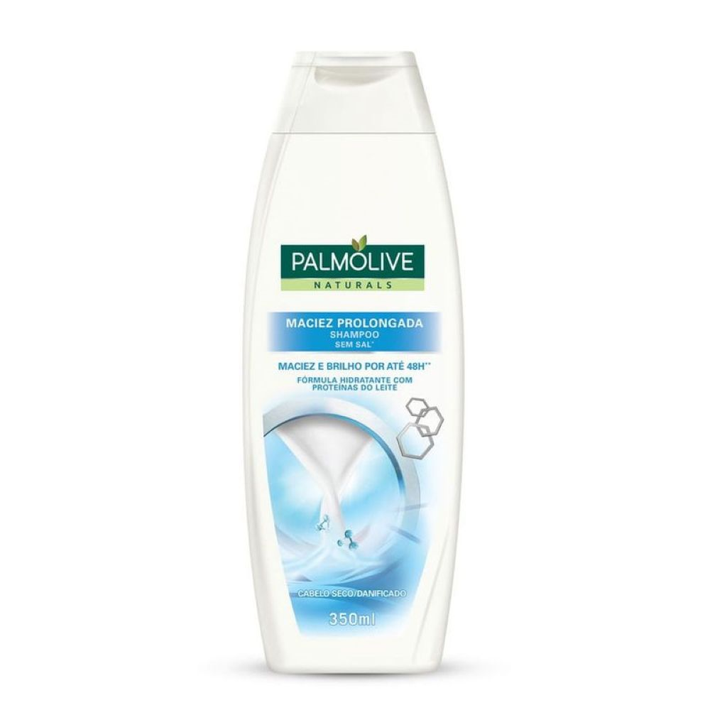 Shampoo Palmolive Naturals Maciez Prolongada 350ml