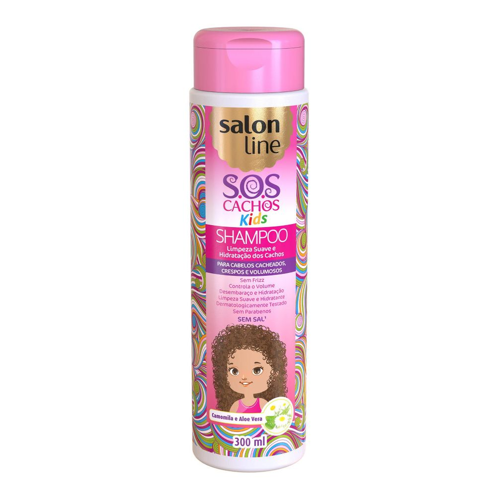 Shampoo Salon Line SOS Cachos kids 300ml