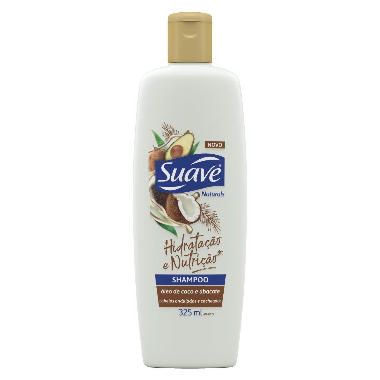 Shampoo Suave Óleo de coco e Abacate 325ml
