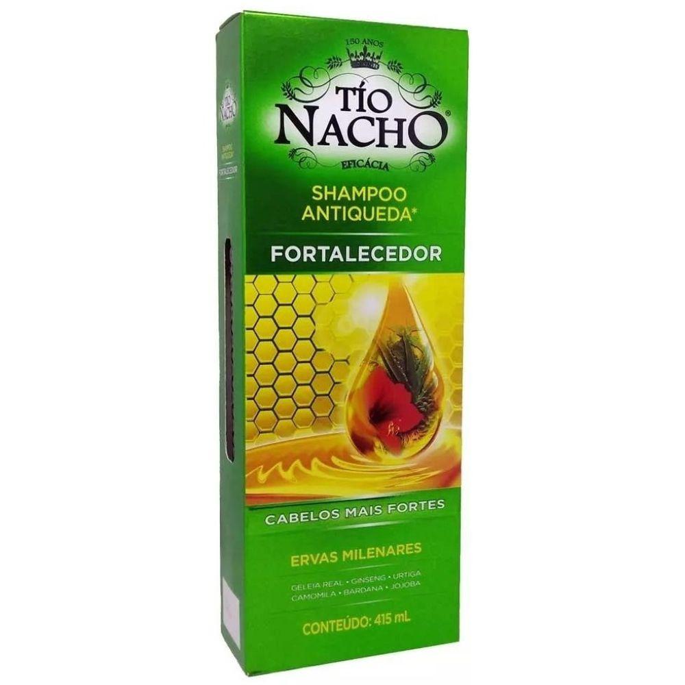 Shampoo Tio Nacho Antiqueda Fortalecimento 415ml