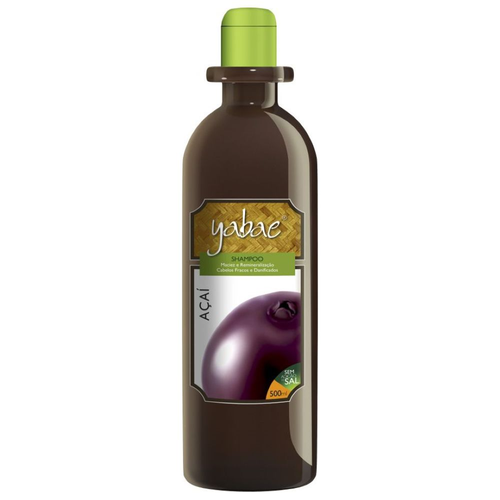 Shampoo Yabae Açaí 500ml
