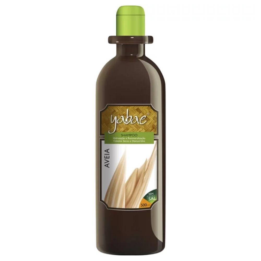 Shampoo Yabae Aveia 500ml
