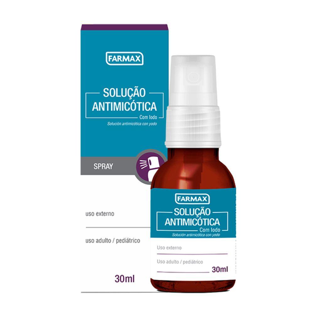 Solução Antimicótica com Iodo Farmax 30ml