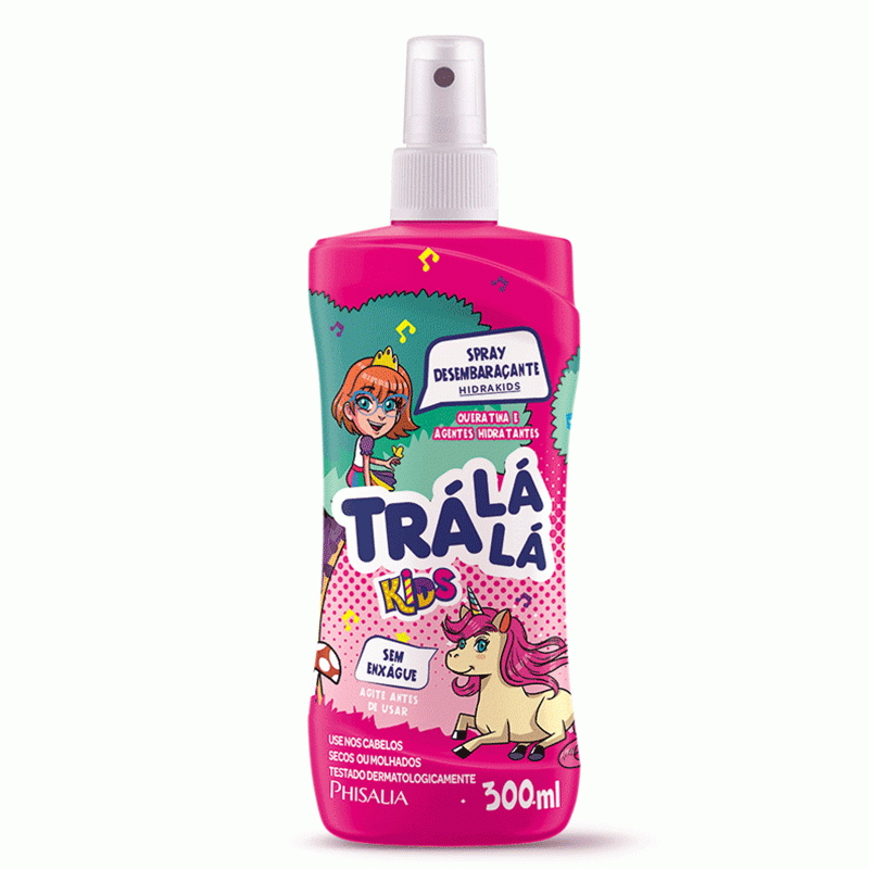 Spray Desembaraçante Trá Lá Lá Kids 300ml