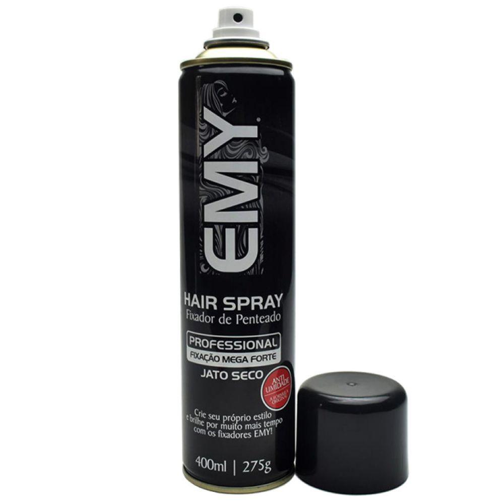 Spray Fixador Emy Mega Forte 400ml