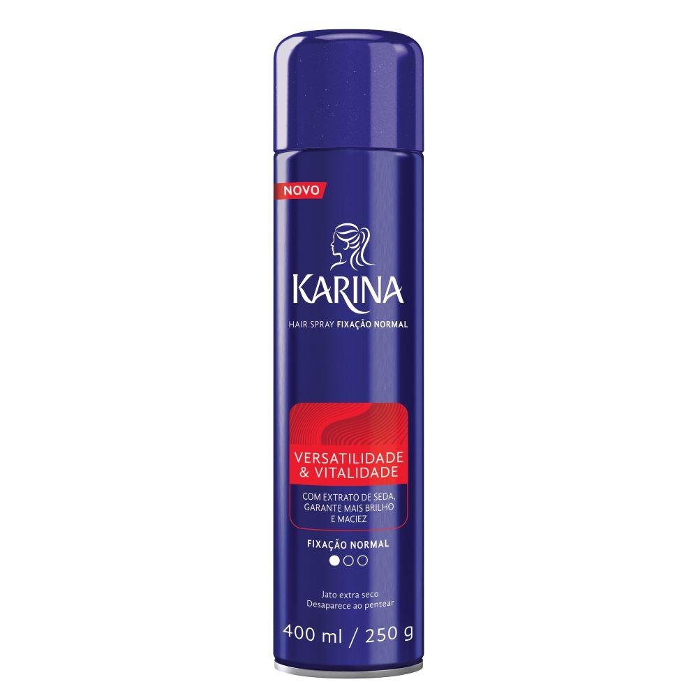 Spray Fixador Karina Normal 400ml