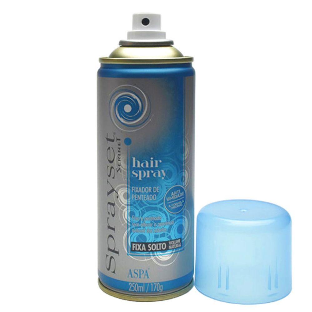 Spray Fixador Sprayset Suave 250ml