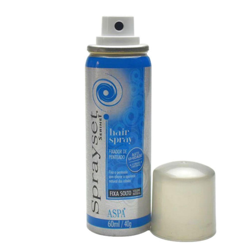 Spray Fixador Sprayset Suave 60 ml