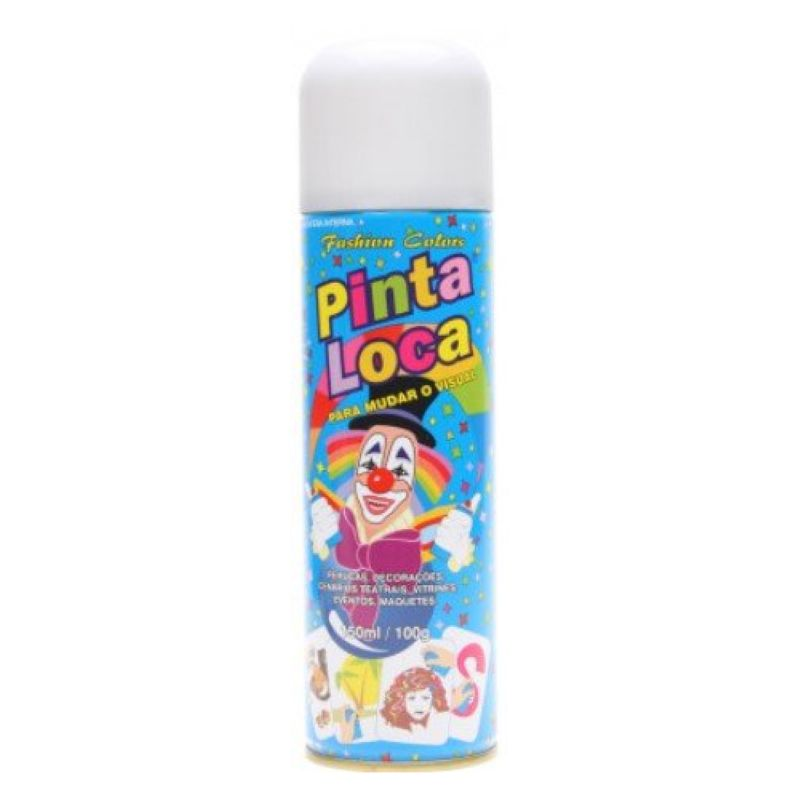 Spray Pinta Loca Branco 150ml