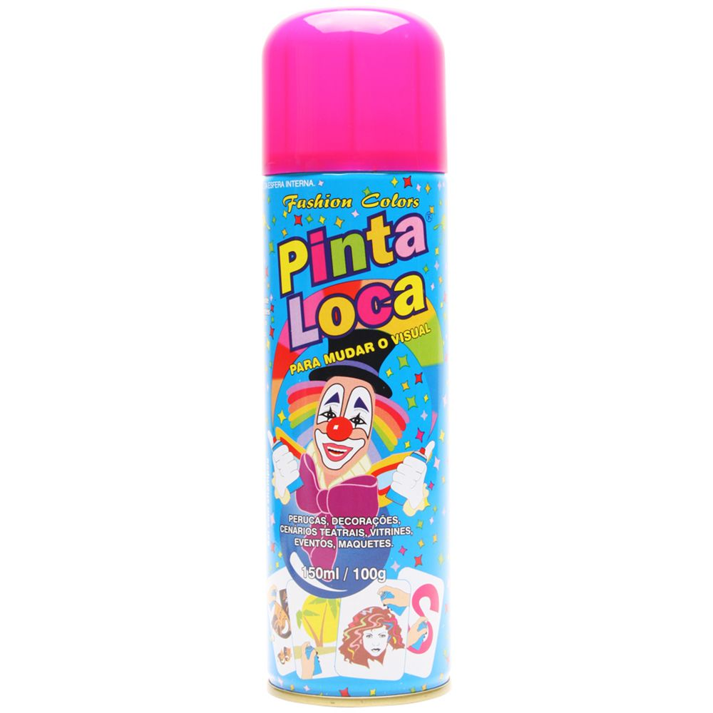 Spray Pinta Loca Rosa Flash 150ml