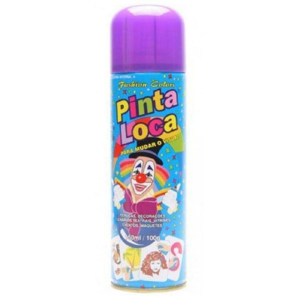 Spray Pinta Loca Roxo 150ml