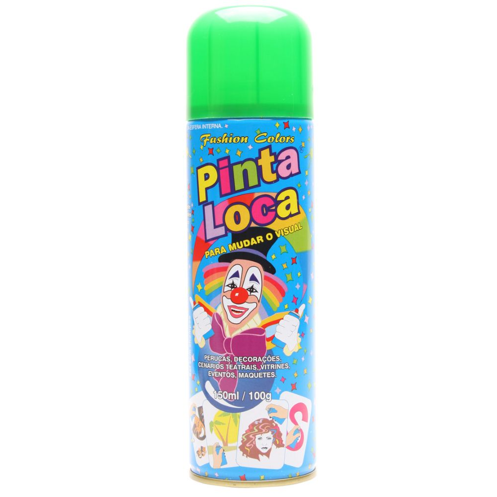 Spray Pinta Loca Verde Flash 150ml