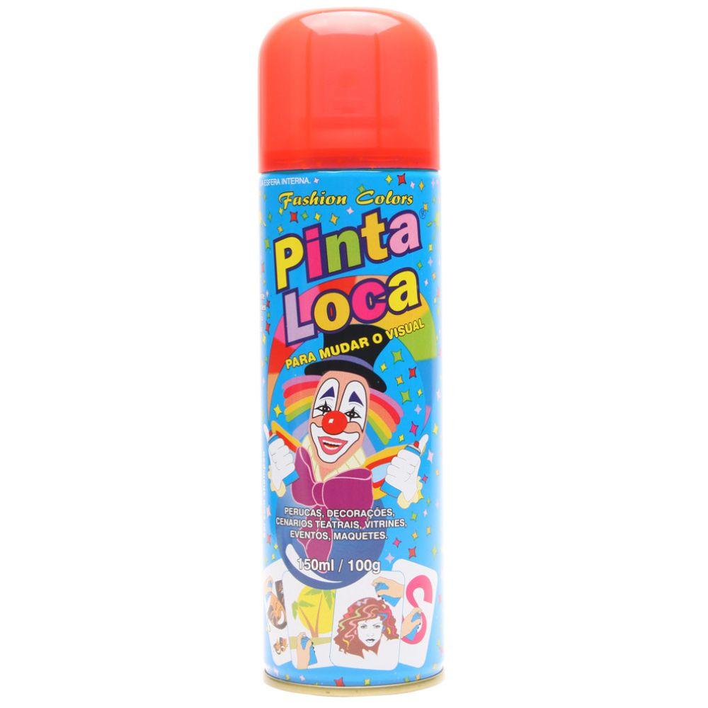 Spray Pinta Loca Vermelho Flash 150ml