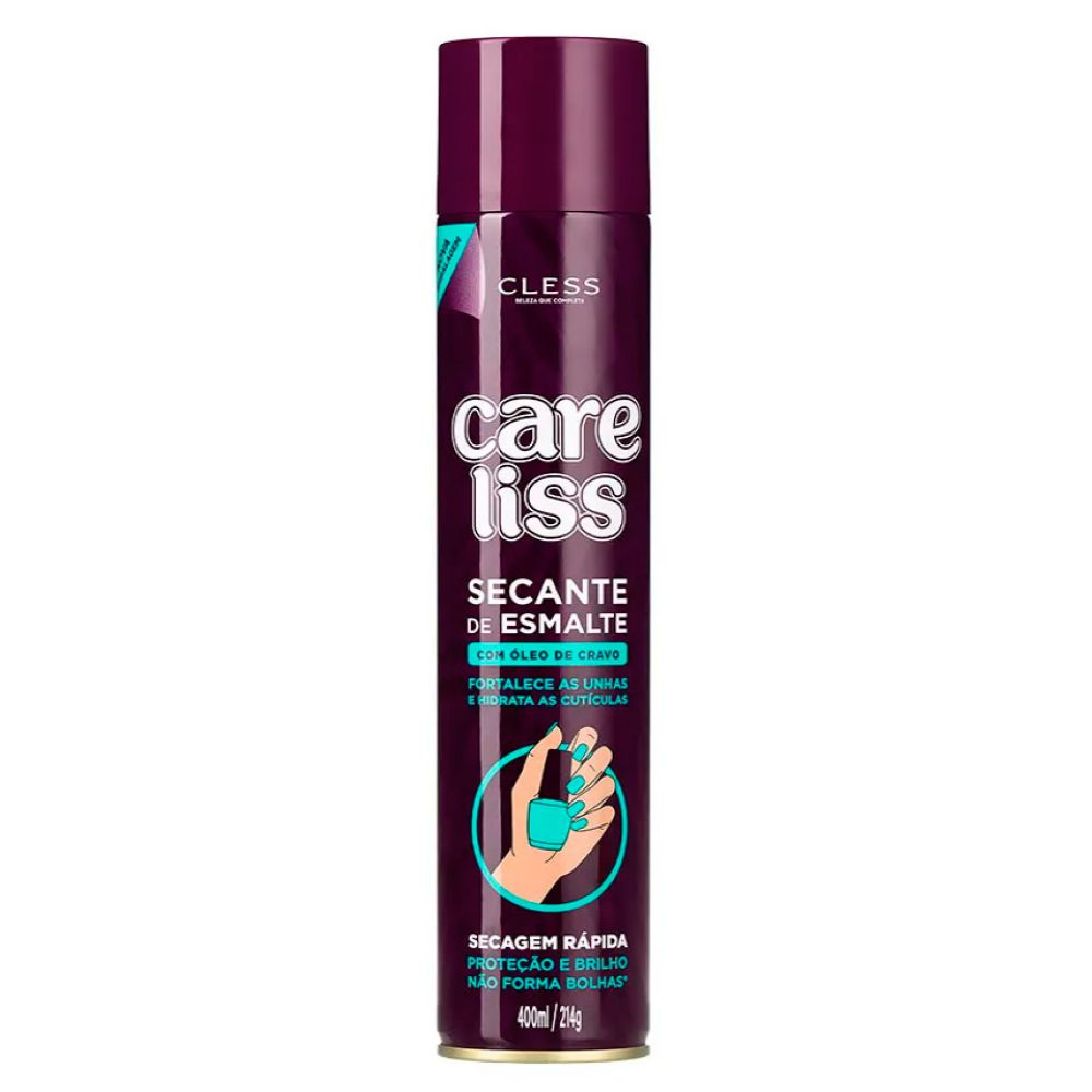 Spray Secante de Esmaltes Care liss 400ml