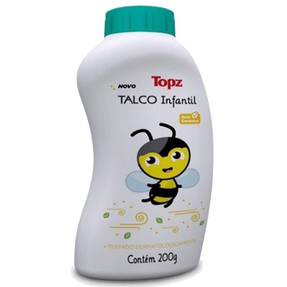 Talco Infantil 200gr Topz