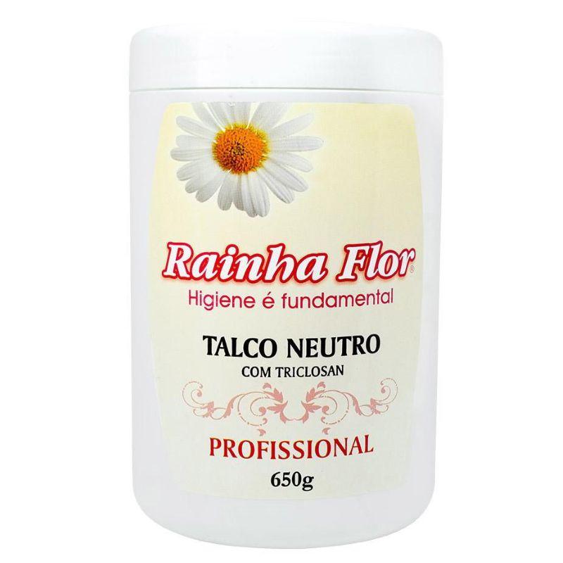 Talco Neutro Rainha Flor 650g