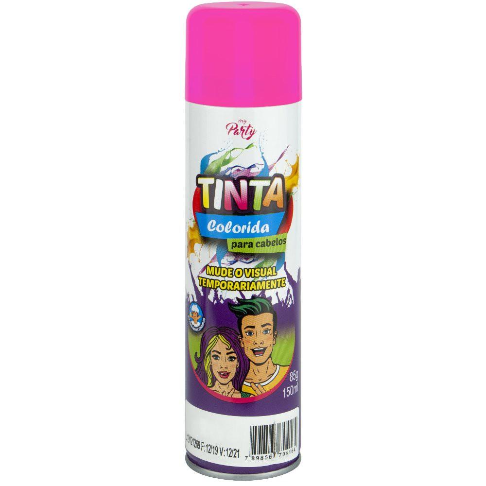 Tinta Colorida para Cabelos Aeroflex Rosa Pink 150ml
