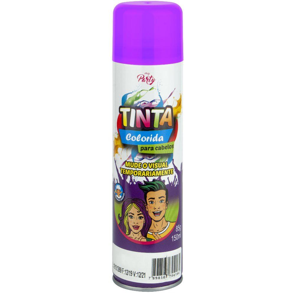 Tinta Colorida para Cabelos Aeroflex Violeta 150ml