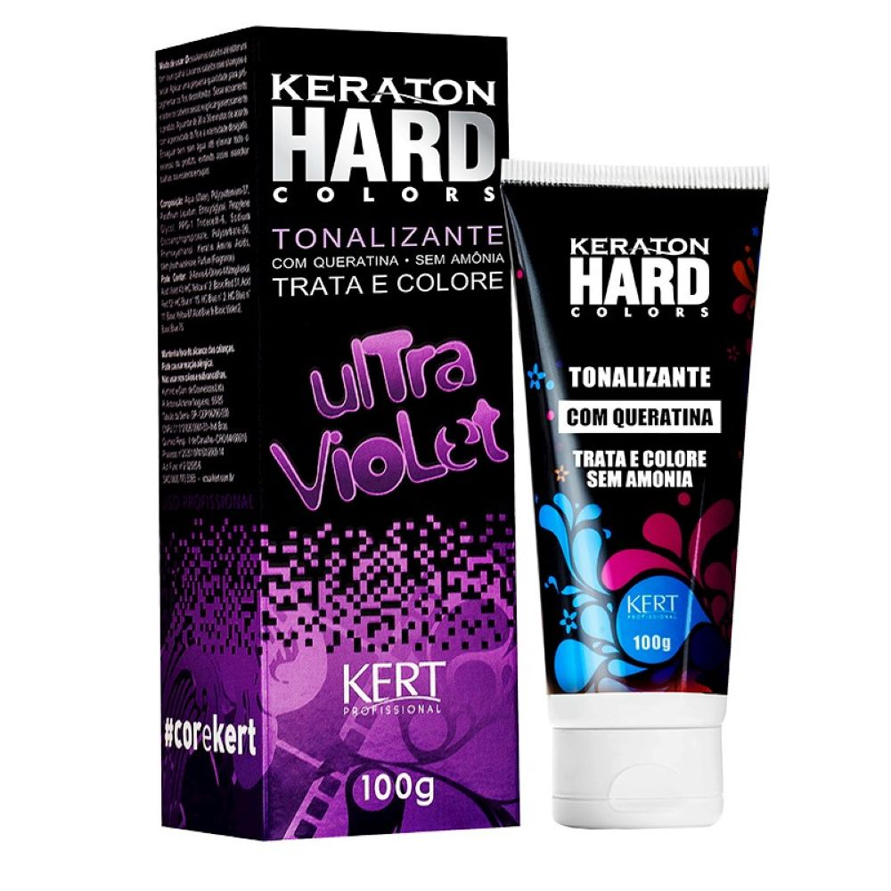 Tonalizante Keraton Hard Colors Ultra Violet