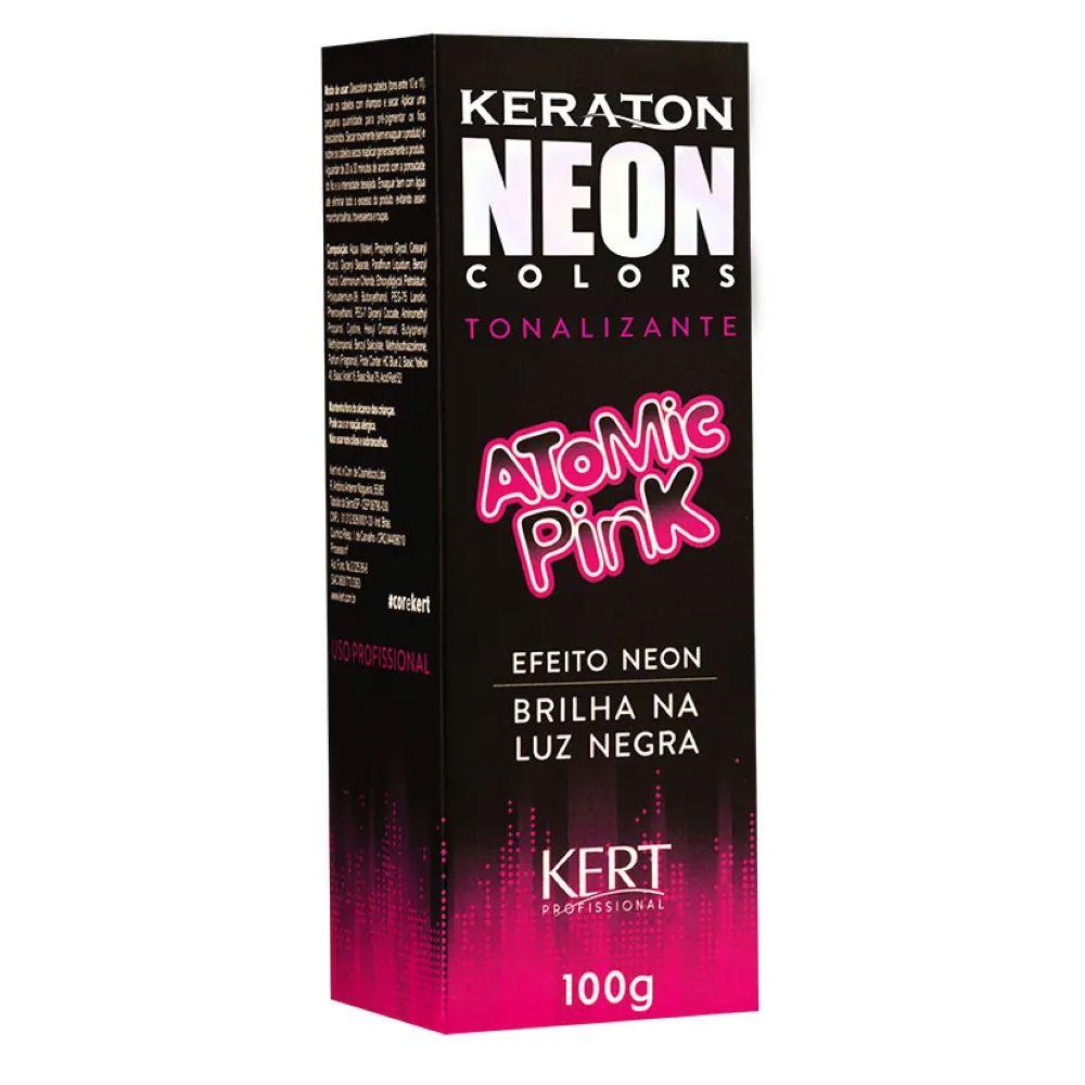 Tonalizante Keraton Neon Colors Atomic Pink