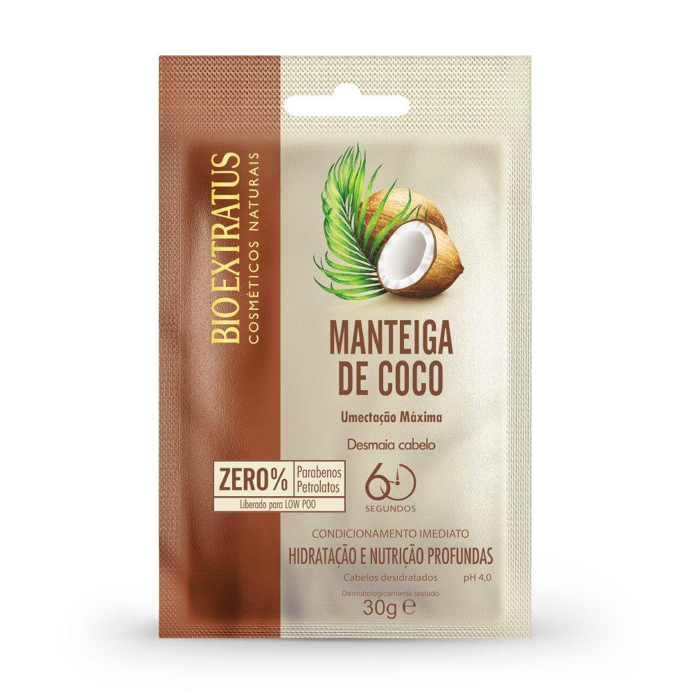 Umectação Máxima Bio extratus Manteiga de coco 30g
