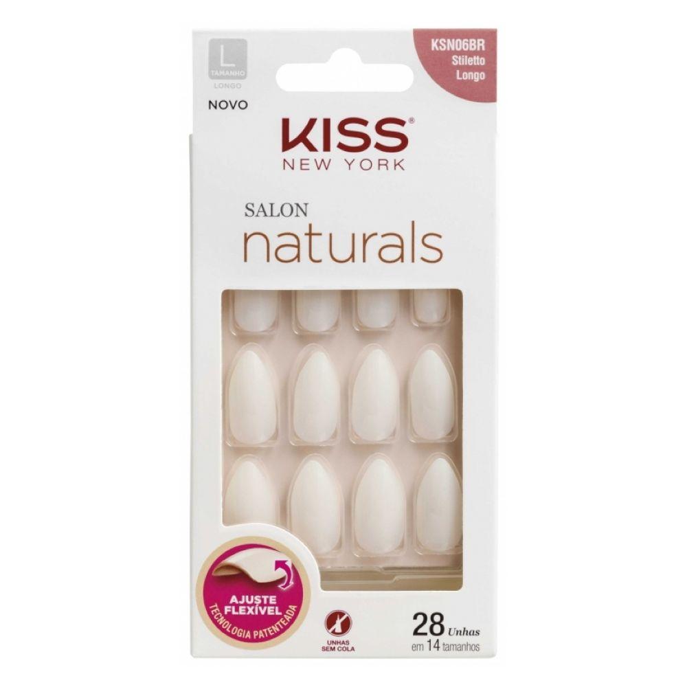 Unhas Kiss Stiletto Longo 28un