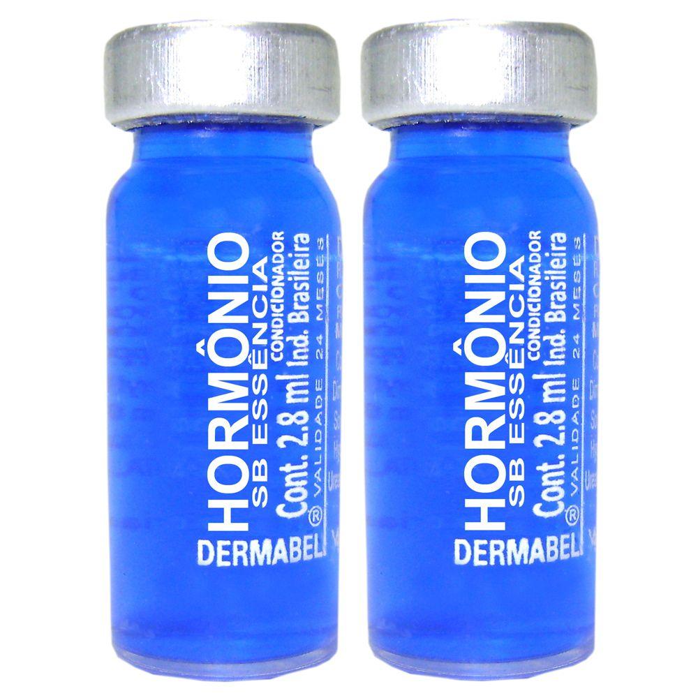 Vitamina Dermabel Hormônio Ampola 2un