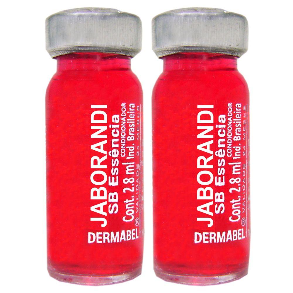 Vitamina Dermabel Jaborandi Ampola 2un