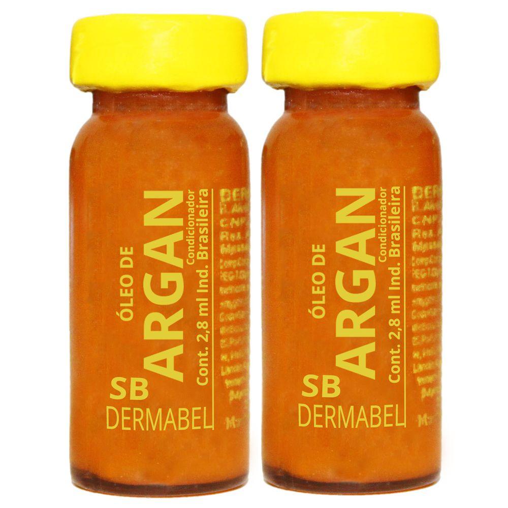 Vitamina Dermabel Óleo de Argan Ampola 2un