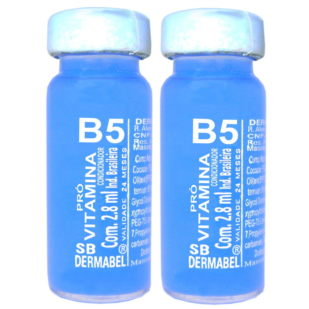 Vitamina Dermabel Pró Vitamina B5 Ampola 2un