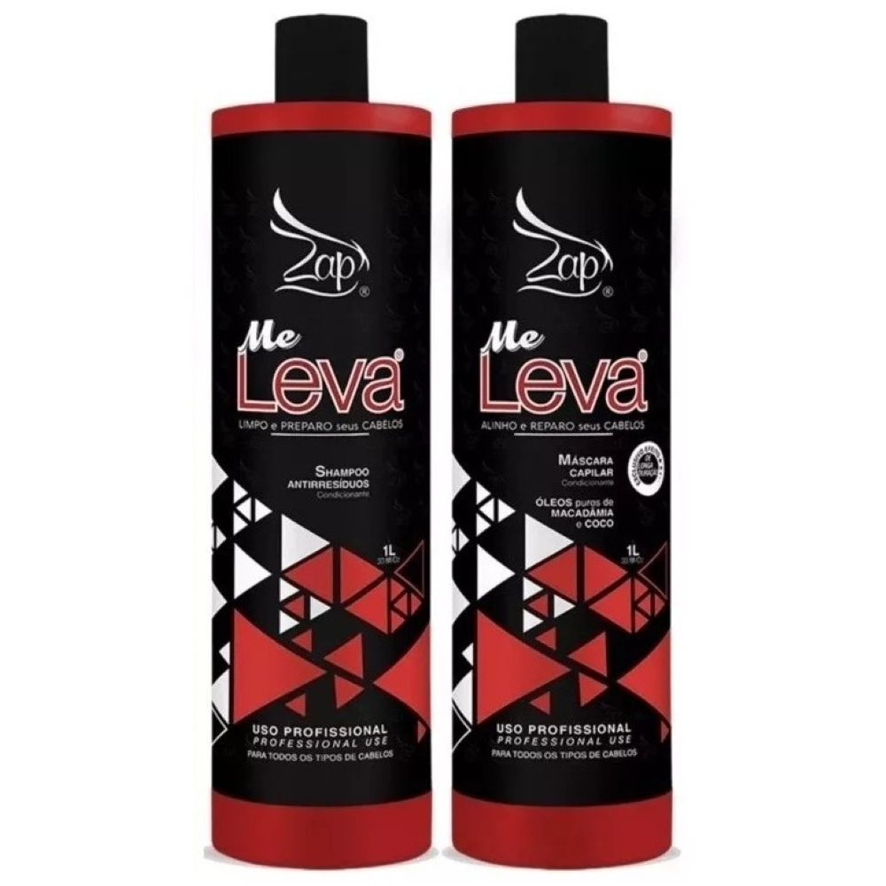 Zap Professional Escova Progressiva All Time  Kit 2x1kg