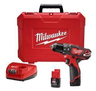 Parafusadeira Furadeira Impacto 3/8 M12 Milwaukee 2408-259