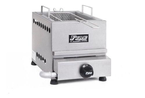 Fritador A Gás Fire De 5 Litros Com 1 Cesto E 1 Queimador