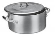 Panela Caçarola Industrial Alumínio Vigor 17,0 L 17x36cm
