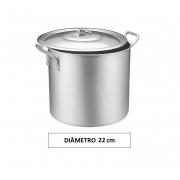 Panela CALDEIRÃO 22 Aluminio Vigor 8,3 Litros
