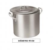 Panela CALDEIRÃO 40 Aluminio Vigor 45 Litros
